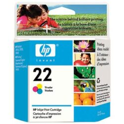 22 Cartus cerneala color HP PSC 1410/DJ3940/3944/3920
