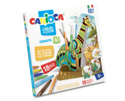Set articole creative CARIOCA Create & Color - GIRAFFE 3D