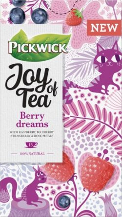 Ceai PICKWICK JOY OF TEA - zmeura