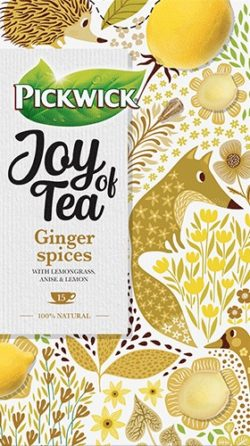 Ceai PICKWICK JOY OF TEA - ghimbir