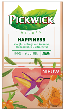 Ceai PICKWICK HERBAL GOODNESS - Happiness - 20 x 1