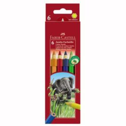Creioane Colorate Jumbo Faber-Castell