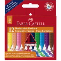 Creioane Colorate Plastic Faber-Castell