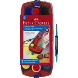 Acuarele 24 Culori Connector Faber-Castell