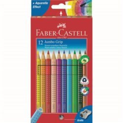 Creioane Colorate Jumbo Grip Faber-Castell