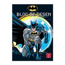 Bloc Desen A4 16 160G Premium Batman Pigna