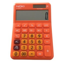 Calculator Birou 12Digiti HCS001 Portocaliu Noki