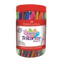 Pix Unica Folosinta Trilux 032M Borcan Plastic 48 Buc Div Culori Faber-Castell