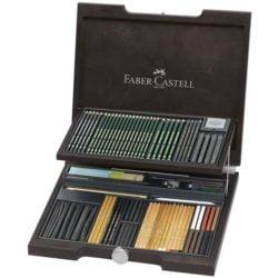 Cutie Lemn PITT Monochrome 2 Faber-Castell