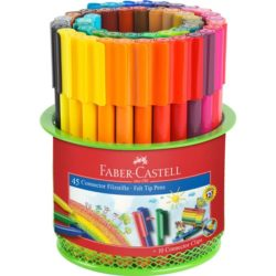 Carioca 45 Culori Connector in Suport Mesh Faber-Castell