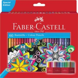 Creioane Colorate 60 Culori Editie Speciala Faber-Castell