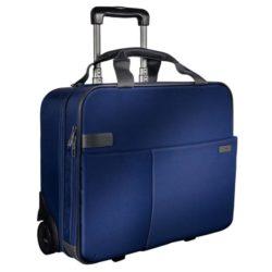 Geanta Smart Traveller Cu 2 Roti Albastru-Violet Leitz