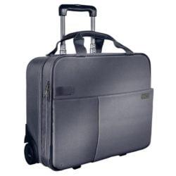 Geanta Smart Traveller Cu 2 Roti Gri-Argintiu Leitz