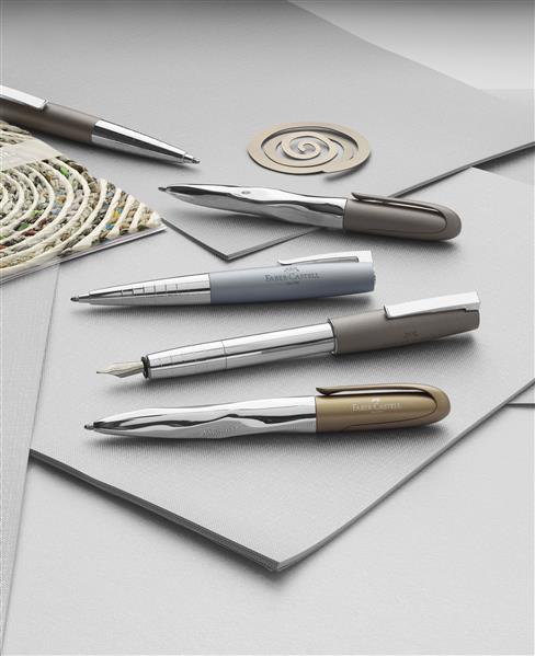 Stilou Loom Metalic Gri Faber-Castell