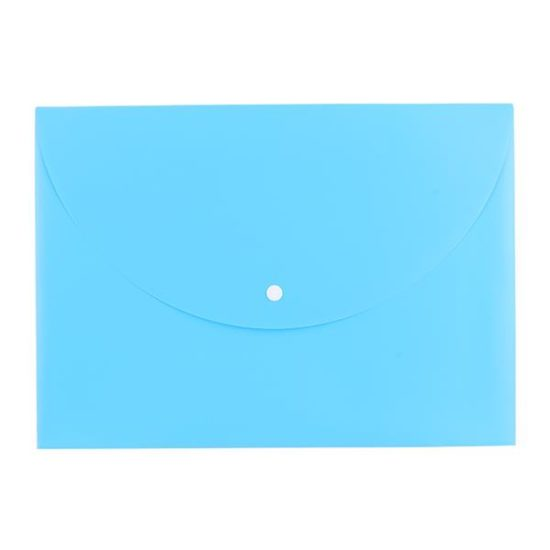 Mapa Plastic Cu Buton A4 Div. Culori Neon Deli
