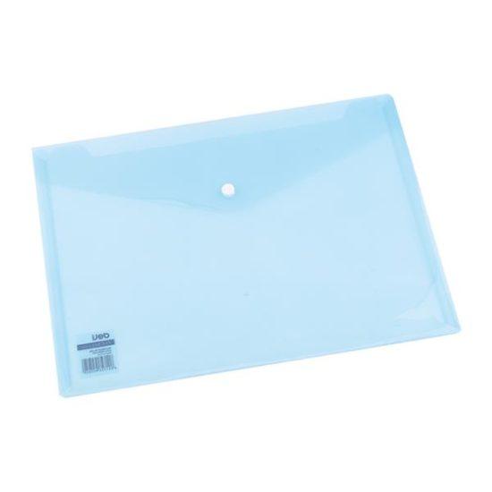 Mapa Plastic Cu Buton A4 Culori Translucide Deli