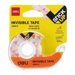 Dispenser Banda Adeziva Invisible 18mmx7.62m Deli