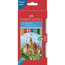Creioane Colorate 12 Culori si 1 Grip 2001 Fighting Knights Faber-Castell
