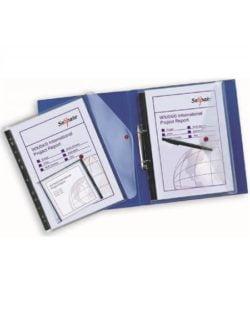Folie Protectie A4 Cu Clapa Laterala 5/Set Transparenta Snopake