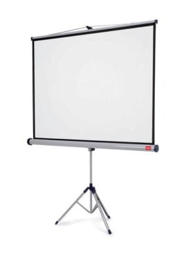 Ecran Proiectie 150x114 cm 4:3 Manual pe Trepied Nobo