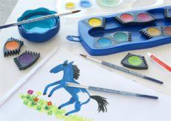 Pensula Varf Rotund Creative Studio Faber-Castell