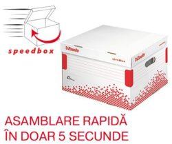 Container Arhivare cu Capac L Speedbox Esselte