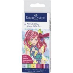 Pitt Artist Pen Manga Set 6 Shojo 2019 Faber-Castell
