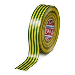 Banda Adeziva Electroizolatoare 20x19mm Galben/Verde Tesa