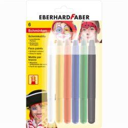 Set Pictura Pentru Fata Creioane Retractabile 6 Culori Eberhard Faber