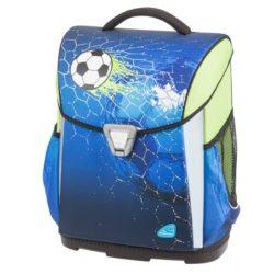 Ghiozdan Fotbal Albastru cu Penar