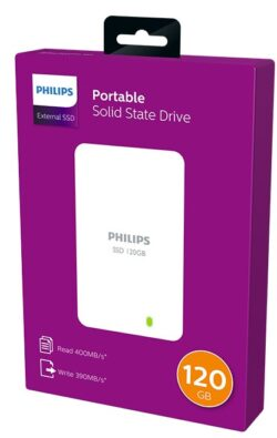 Hard disk extern PHILIPS - SSD 120GB
