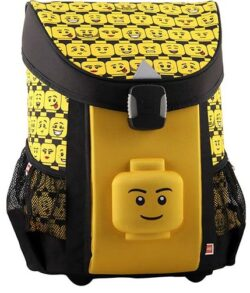 Ghiozdan scoala Easy LEGO Core Line - design Minifigures Heads