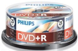 DVD+R 4.7GB (25 buc. Spindle
