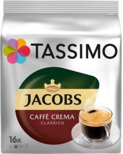 Capsule cu cafea Jacobs Tassimo caffe crema classico - 16 capsule - 112gr/pachet