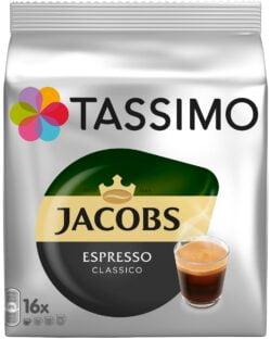 Capsule cu cafea Jacobs Tassimo espresso classico - 16 capsule - 118gr/pachet