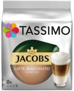 Capsule cu cafea Jacobs Tassimo latte macchiato classico - 8 capsule - 264gr/pachet
