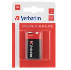 BATERIE VERBATIM 9V ALCALINE 1BUC 49924