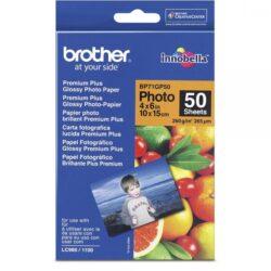 BROTHER HARTIE FOTO 10X15 50 BUCATI BP71GP50