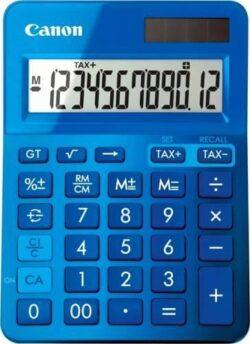 CALCULATOR BIROU CANON LS123KBL 12 DIGIT BLUE