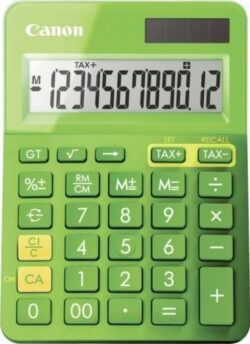 CALCULATOR BIROU CANON LS123KGR 12 DIGIT GREEN