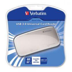 CARD READER VERBATIM UNIV MEMORY CARD READER USB3.0 97706