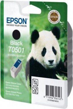 CARTUS BLACK C13T05014010 15ML ORIGINAL EPSON STYLUS COLOR 400