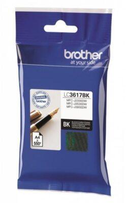 CARTUS BLACK LC3617BK ORIGINAL BROTHER MFC-J2330DW