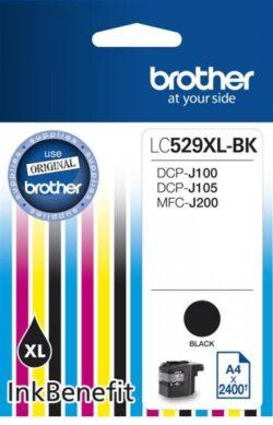 CARTUS BLACK LC529XLBK ORIGINAL BROTHER DCP-J100