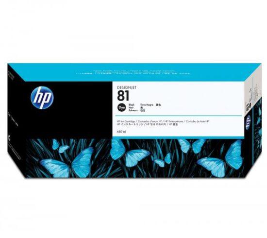 CARTUS BLACK NR.81 C4930A 680ML ORIGINAL HP DESIGNJET 5000