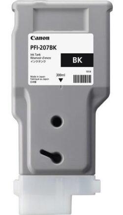 CARTUS BLACK PFI-207BK 300ML ORIGINAL CANON IPF 680
