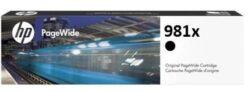 CARTUS BLACK XL NR.981X L0R12A ORIGINAL HP PAGEWIDE ENTERPRISE 556DN