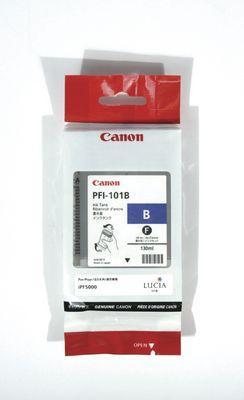 CARTUS BLUE PFI-101B 130ML ORIGINAL CANON IPF 5000