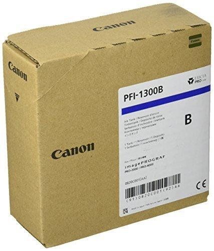 CARTUS BLUE PFI-1300B 330ML ORIGINAL CANON IPF PRO-2000