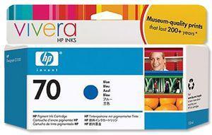 CARTUS BLUE VIVERA NR.70 C9458A 130ML ORIGINAL HP DESIGNJET Z3200